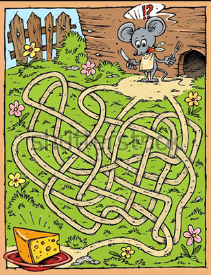stock-vector-mouse-cheese-labyrinth-28577023