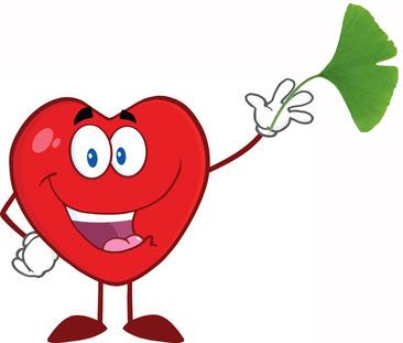Heart ginkgo